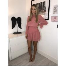 CORA Pink Mini Haljina